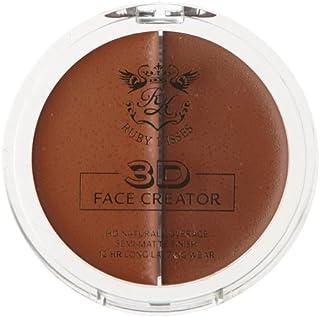 Best 3D FACE CREATOR - Ruby Kisses HD 2 Color Foundation + Concealer (Level 16) Review