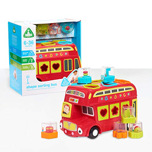 Early Learning Centre: Shape Sorting Bus w/ 6 Shapes $13.50, Wooden Toddle Truck w/ 24 Building Blocks $16.80 + F/S w/ Amazon Prime or Orders $25+