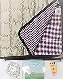 Deep Sleep Grounding Noble Metal Plush Pad (29'x60') for Body Earthing - Conductive Fabrics Mattresses