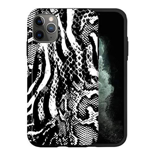 iPhone 12 Mini Case, Luxurious Zebra Print ABC009_5 Case for iPhone 12 Mini Protective Phone Cover, Abstract Funny Gorgeous [Double-Layer, Hard PC + Silicone, Drop Tested]