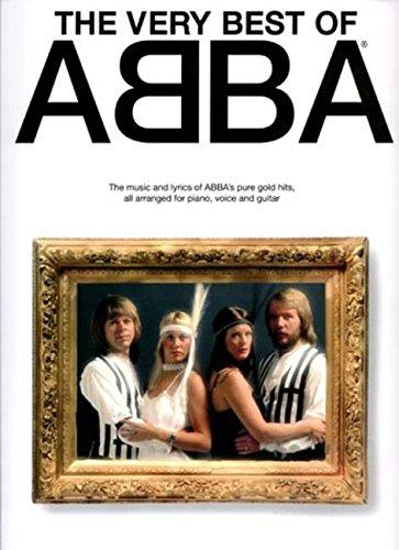 The Very Best Of Abba: Noten, Songbook für Klavier, Gesang, Gitarre (Music)