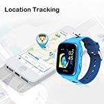 Ojoy-New-Version-A1-Kids-Smart-Watch-Waterproof-GPS-Smart-Watch-for-Kids-4G-LTE-Chipset-by-Qualcomm-Snapdragon-Safety-Gizmo-Watch-with-iOS-Android-App-Blue-US-Warranty