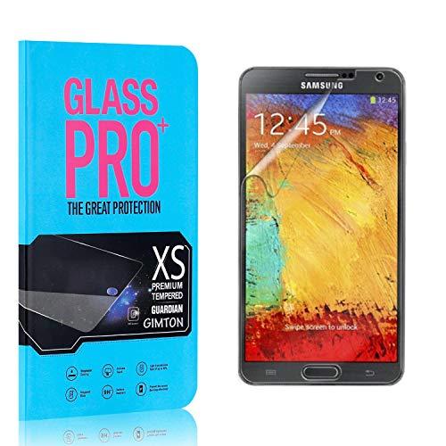 GIMTON Verre Trempé pour Galaxy Note 3, 0.26mm HD Protection en Verre Trempé Écran pour Samsung Galaxy Note 3, Anti Rayures, sans Traces de Doigts, 4 Pièces