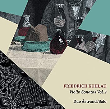 Kuhlau: Violin Sonatas, Vol. 2