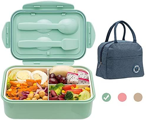 Bento Boxes for Adults 1400 ML Bento Lunch Box For Kids Childrens With Utensils Insulated Lunch product image