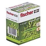 Fischer 518887 - Ux universal plug 10x60 r, verde,