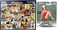 American Beauty Retro Dream Van Bundled with Nose Art Nostalgia + Americana Puzzle Movies, Music, Apple Pie, Foods, Brands, Entertainment 2 Items