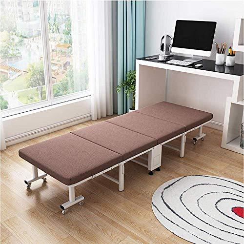 FZYE Playa Cama Plegable reclinable Individual portátil Oficina Siesta Artifact Cómoda Silla retráctil de Doble Uso Gris 190X65X30Cm