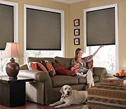 Windowsandgarden Custom Cordless Single Cell Shades, 24W x 68H, Espresso, Any Size 21-72 Wide and 24-72 High