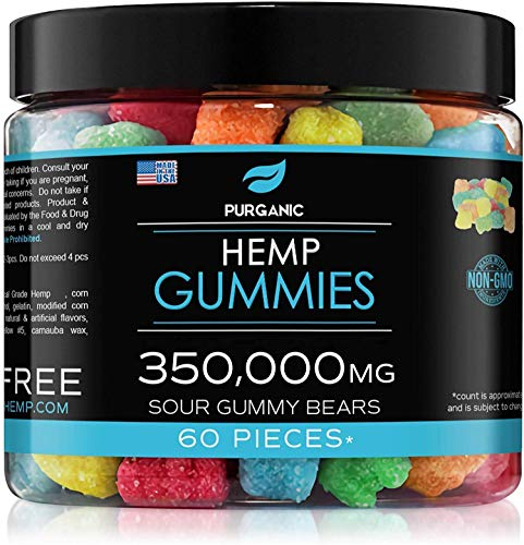Gummies for Stress Relief - Great for Stress, Insomnia & Anxiety Management – Made in USA – Tasty & Relaxing Gummies – Premium Blend - Mood & Immune Support
