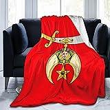 Shriner Blanket 3D Print Camping Blankets Light Warm Bedroom Blanket