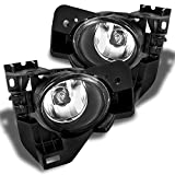 For Nisasn Maxima Clear Driving Fog Lights Driver/Passenger Lamps with Bulbs/Bezel/Switch