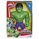 Hasbro Playskool Heroes - Hulk Marvel Super Hero Adventures Mega Mighties, action figure da 25 cm, Multicolore, E4149ES0
