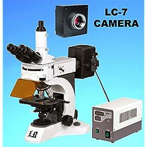 Labomed Trinocular Upright Fluorescent Biological Digital Microscope