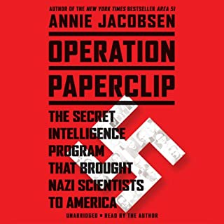 Operation Paperclip audiobook cover art