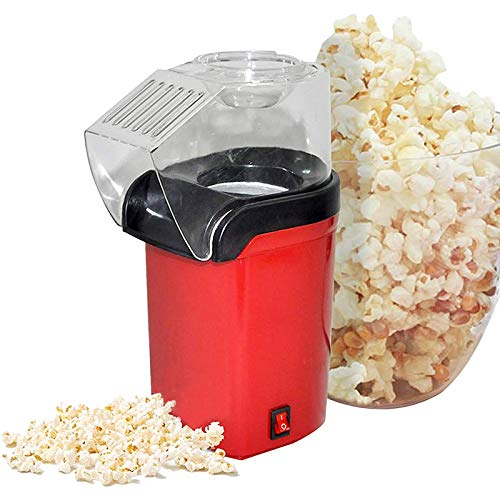 Amazing Deal HOUSHIYU-521 1200W Hot Air Popcorn Popper Machine for Home Theater, BPA-Free Electric P...