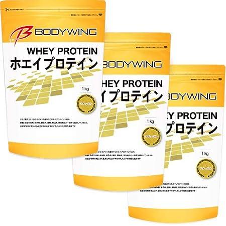 ボディウイング ホエイプロテイン 無添加 ナチュラル (3kg)