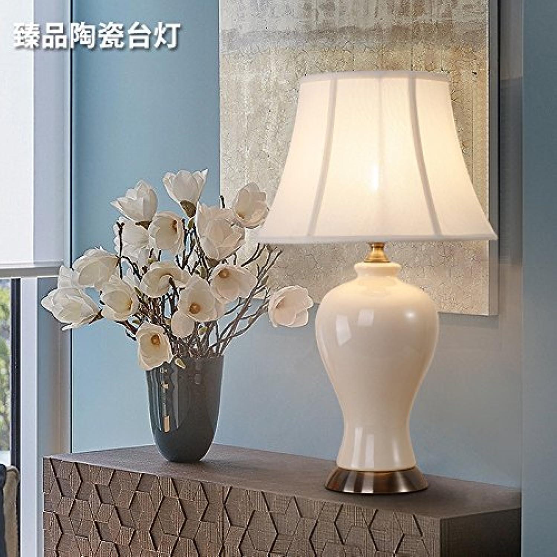 FDH Weiche Keramik Tischleuchte - Schlafzimmer Nachttischlampe, D340H 560, Absatz B B06XXFSDLL     | Ausgezeichnet (in) Qualität