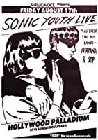 Sonic Youth Poster Goo-Live Hollywood Palladium (59,5cm x 84cm)