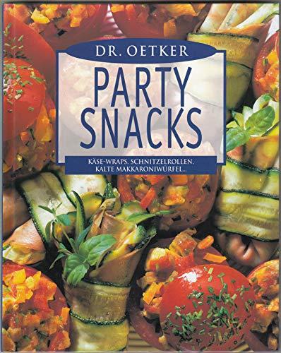 Dr. Oetker Party Snacks Käse-Wraps, Schnitzelrollen, Kalte Makkaroniwürfel...