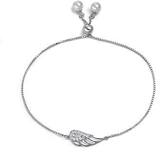 Best angel wing bracelet sterling silver Reviews