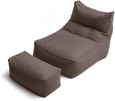 Amazon.com: Cozy Bean Bag Sofa Adult Rectangular Lazy Sofa ...