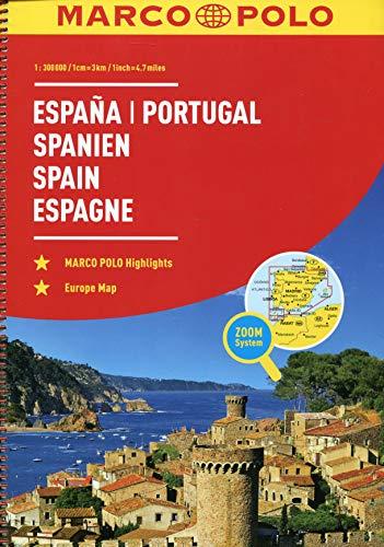 MARCO POLO ReiseAtlas Spanien, Portugal 1:300 000: Europa 1:4 500 000 (MARCO POLO Reiseatlanten)