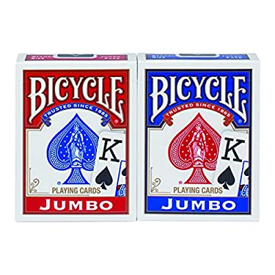 Bicycle Jumbo Playing Cards, Pack of 2