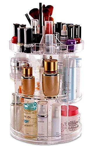 DECO EXPRESS Tocadores Maquillaje Make Up Organizer Ordenar Maquillaje Decoración Baño Organizador de Cosmeticos