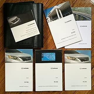 2010 Lexus RX 350 Owners Manual