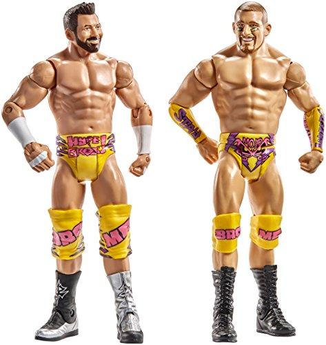 WWE Superstars Mojo Rawley & Zack Ryder Action Figure (2 Pack)