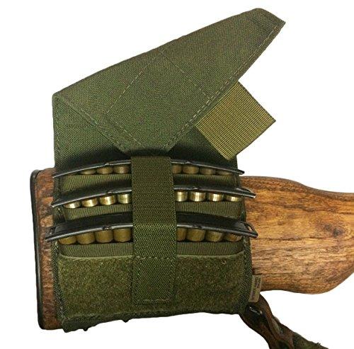 Strike Hard Gear SKS Clip Buttstock Pouch (OD Green)
