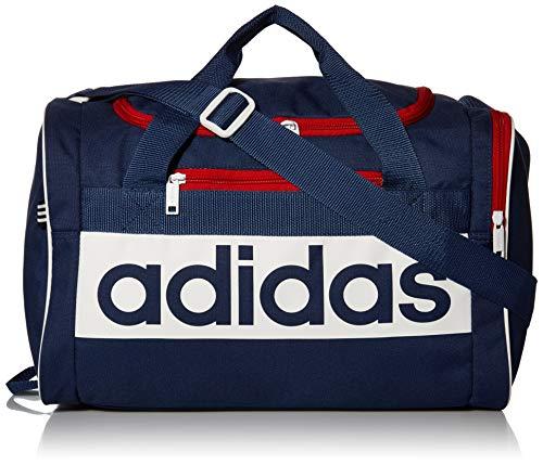 Adidas - Borsone unisex Court Lite, Tech Indigo/Bianco, taglia unica