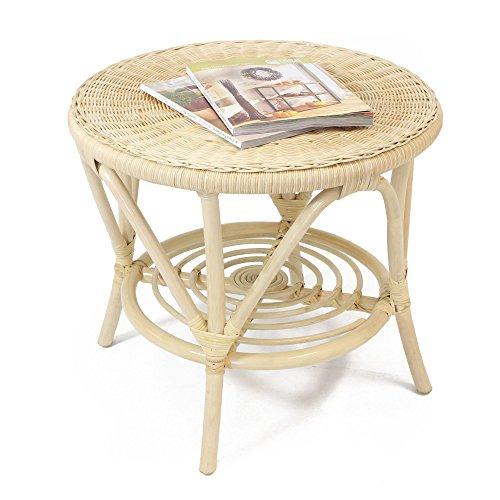 Rattan-Tisch