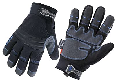 Ergodyne ProFlex 818OD Thermal Utility Gloves with OutDry, Small, Black
