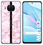 Coque en gel TPU pour Xiaomi Mi 10T Lite Motif marbre 04 Dessins