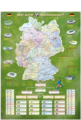 Wer wird Weltmeister?: Poster zur Frauenfußball-WM 2011