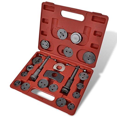 vidaXL Bremskolbenrücksteller Satz 22-TLG. Bremsenkolben Rücksteller Werkzeug