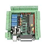 Scheda di Breakout dell'Interfaccia CNC 4Axis 5Axis 6Axis, Scheda di Interfaccia 0-10V PWM per Macchine per Incisione CNC con Cavo USB Cavo Parallelo