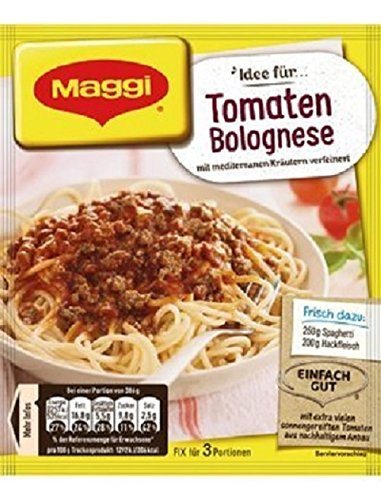 Maggi Fix & Frisch Tomaten Bolognese, 27 er Pack (27 x 43 g)