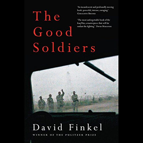 The Good Soldiers  audiobook cover art