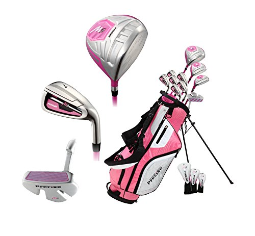 Top Line Ladies Pink Right Handed M5 Golf Club Set