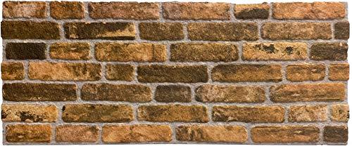 Wandverkleidung in Steinoptik für Schlafzimmer, Wohnzimmer, Küche und Terrasse in Klinkeroptik Look. (ST 351-119)