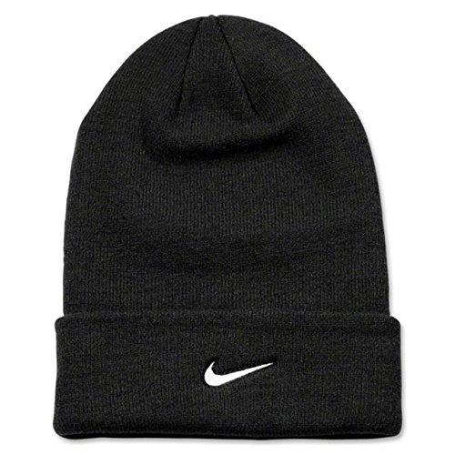 Nike Adult Unisex Stock Cuffed Knit Beanie (Black)
