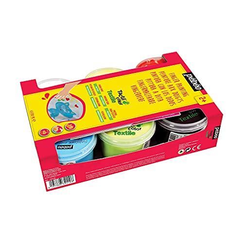 Pébéo 634110 Tactilcolor Textile 6 Botes 100 ml