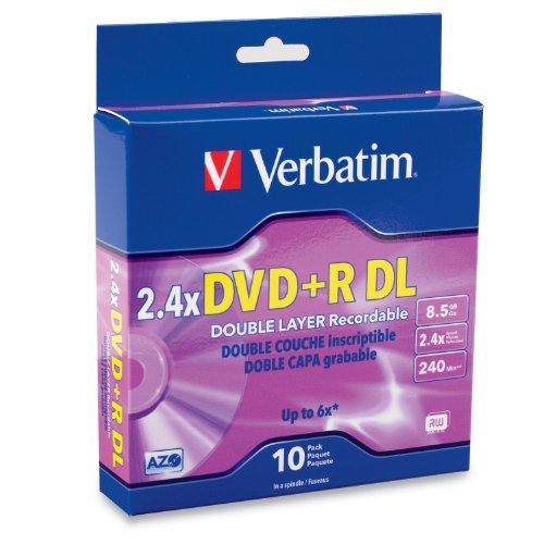 dvd doble capa fabricante Verbatim