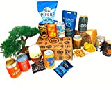 The Assorted Hamper Ale/IPA Beer Gift Selection Box for Men and Women| Ale/IPA Beer Hamper Gift Set with 3 Ale/IPA Cans|1 Branded Tasting Glass|3 Assorted Delicious Savoury Snack|1 Coaster