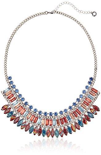 Desigual Damen-Collar Azul de Acero Inoxidable de plástico muñeca MULATA 50,00 cm - 51G55B35077U