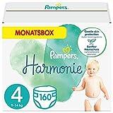 Pampers Baby Windeln Größe 4 (9-14 kg) Harmonie, 160 Stück, MONATSBOX