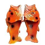 QUNHU Zapatillas para Animales de Pescado Sandalias de Playa Sandalias de Ducha Zapatillas de Playa Antideslizantes Ropa para Mujer Hombres y niños Zapato Casual (Color : Red, Size : EU42/43)